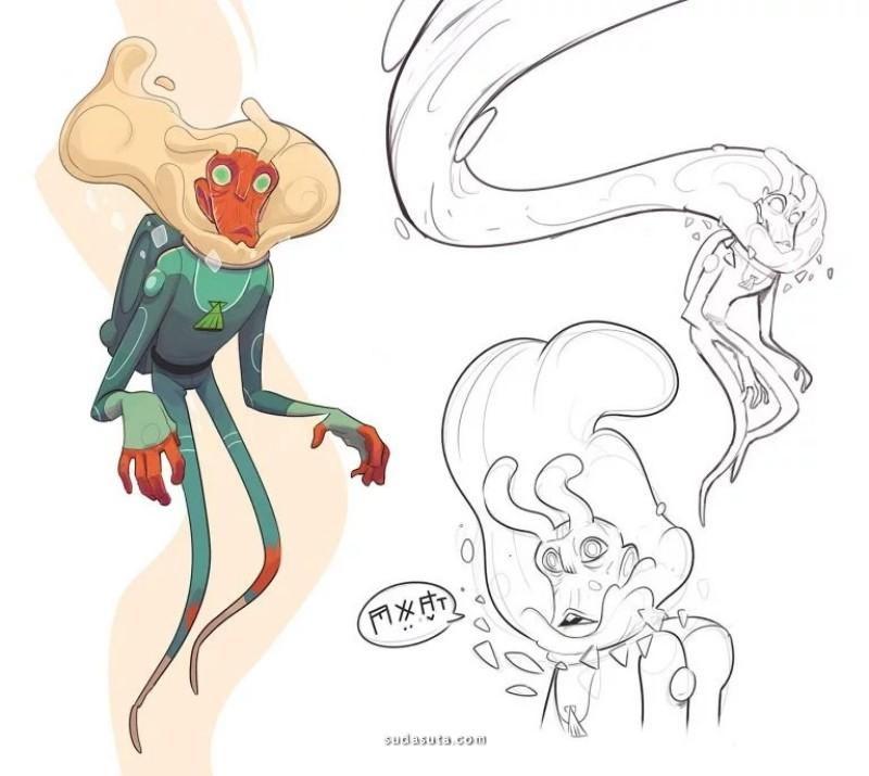 Guille Rancel 卡通角色设计欣赏