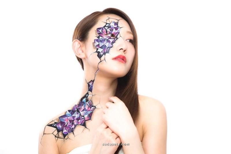 Hikaru Cho 彩妆艺术 不同的自己