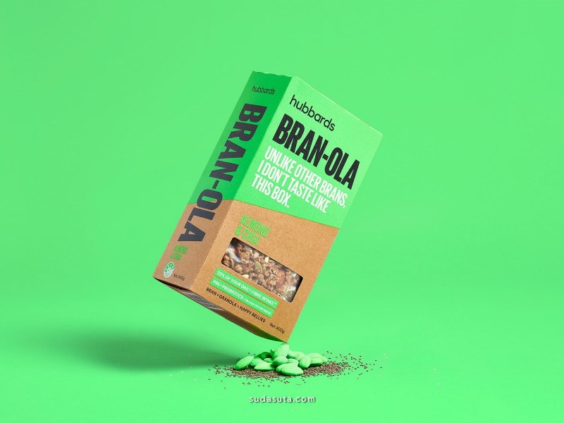 Hubbards Bran-ola 包装设计欣赏