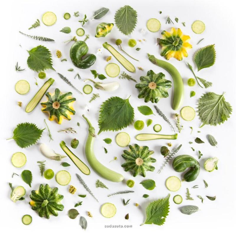 Julie Lee 美食图形设计欣赏