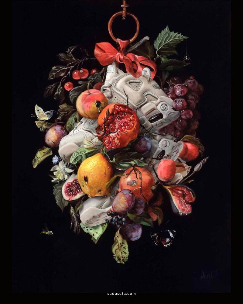 Kathy Ager 超现实主义绘画静物欣赏