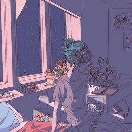 不要在下午睡觉,因为当你睡到五六点,等你一睁开眼,看着朦胧黑黑的天,看着空荡的房间,你会有一种被全世界遗弃的孤独感,那种,好像自己是全世界最孤独的人的感觉。