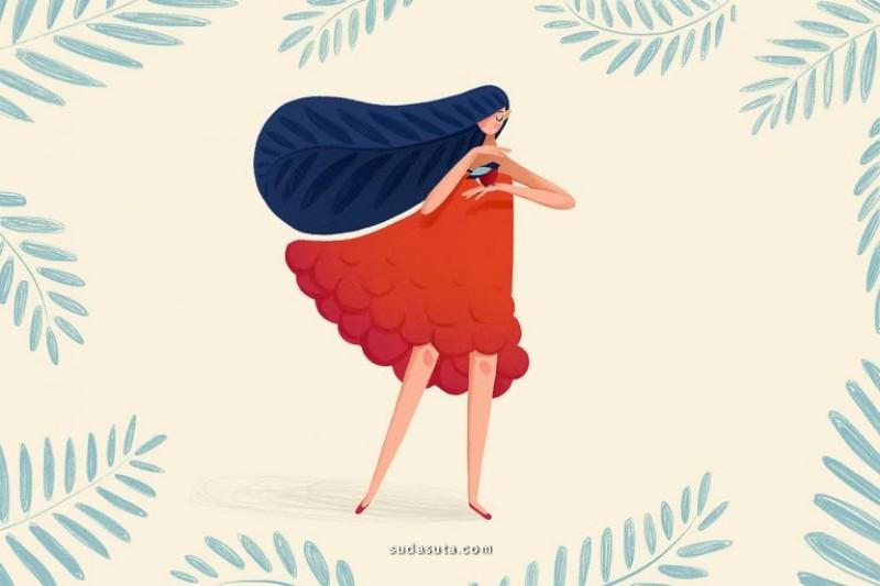 Lana Zorina 商业插画欣赏