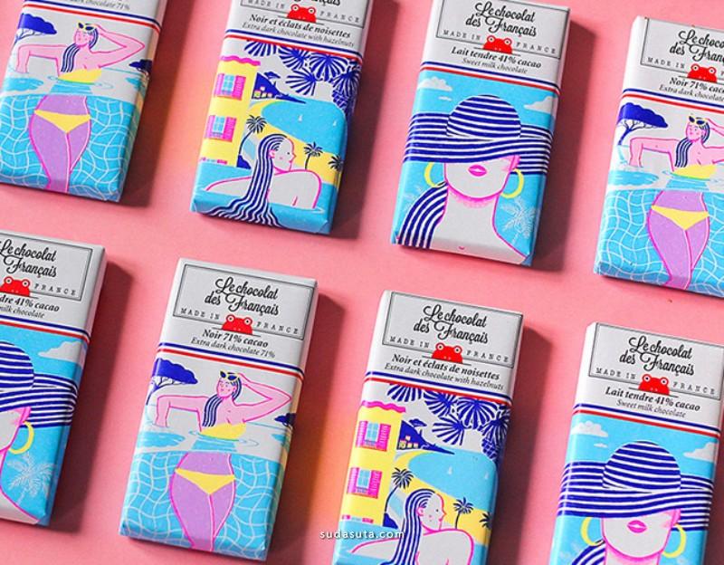 Le Chocolat 巧克力包装设计欣赏