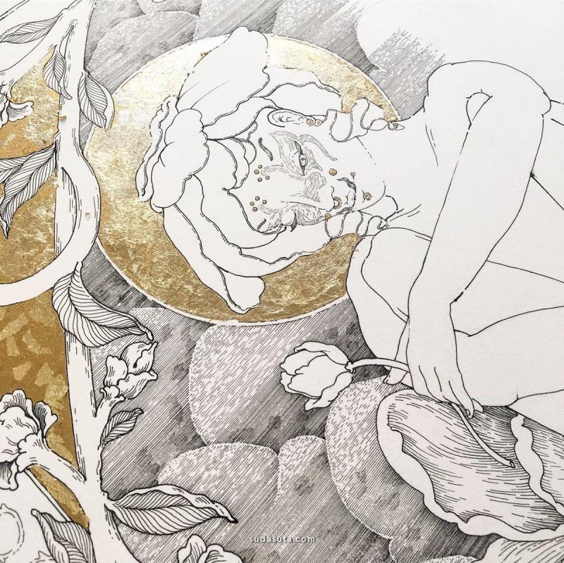 Margot Reverdy 手绘插画欣赏
