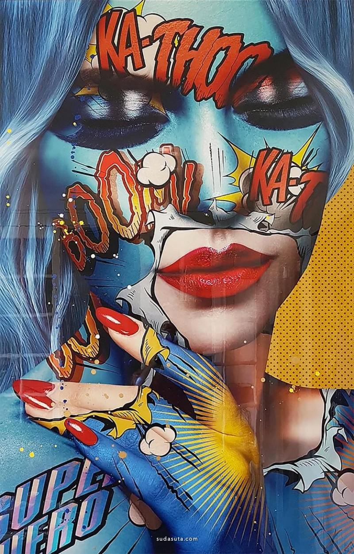 Monika Nowak 彩妆设计欣赏
