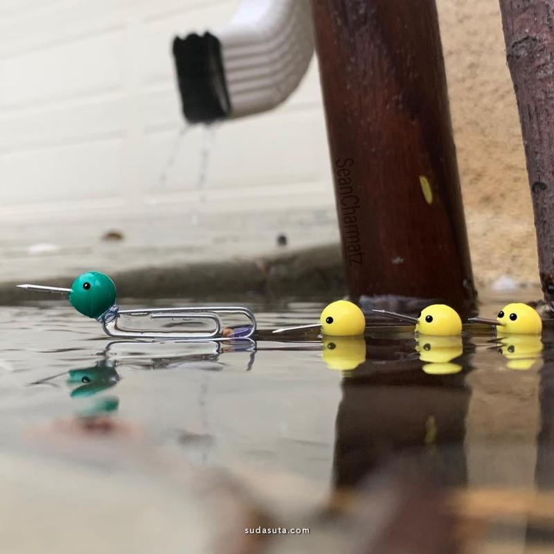 Sean Charmatz 幽默有趣的生活照片合成