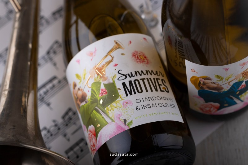 Summer Motives 酒的包装设计欣赏
