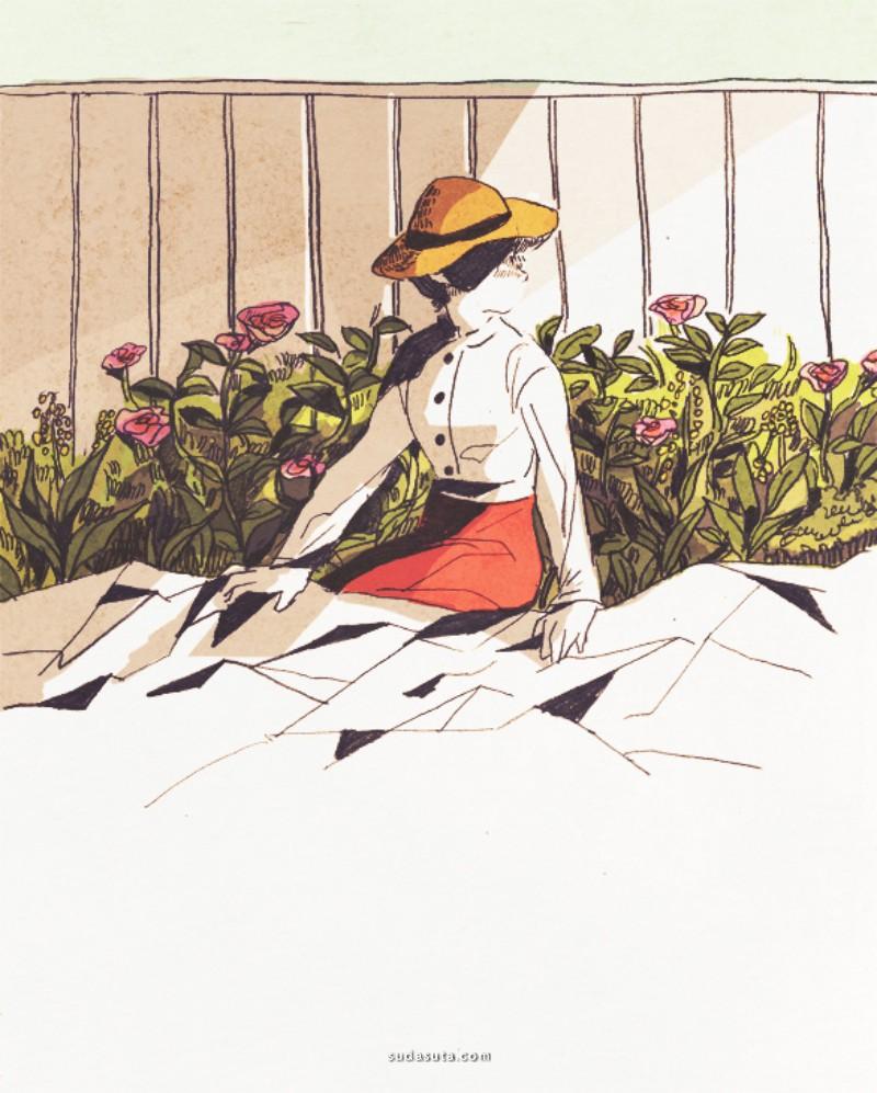 タカラカオリ 插画作品欣赏