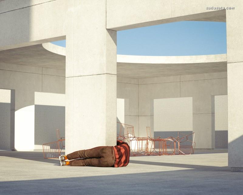 Ali Sahba 超现实主义摄影作品欣赏