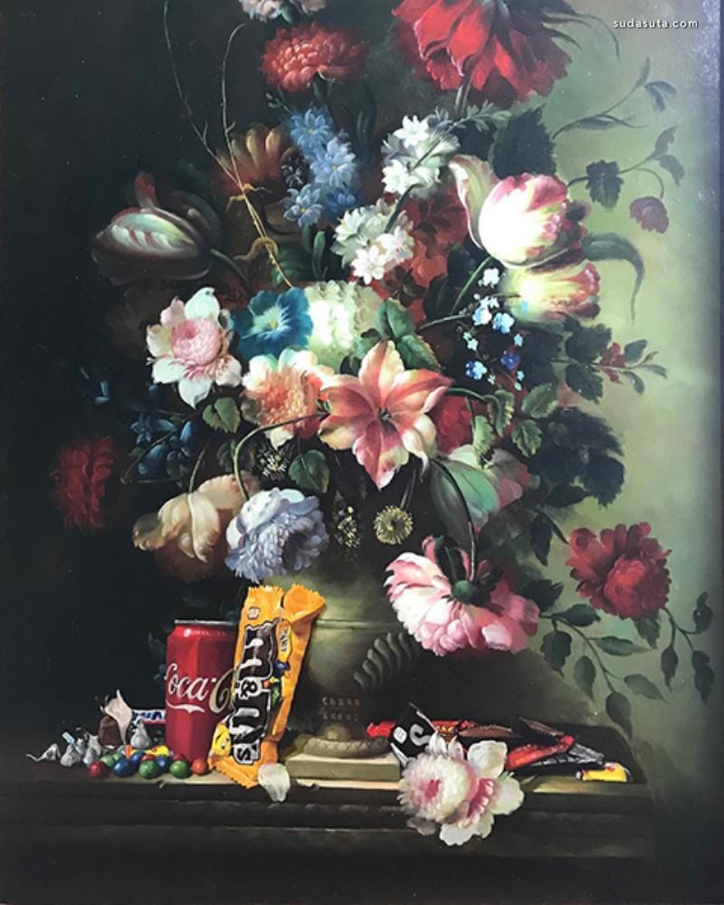 Dave Pollot 绘画艺术欣赏