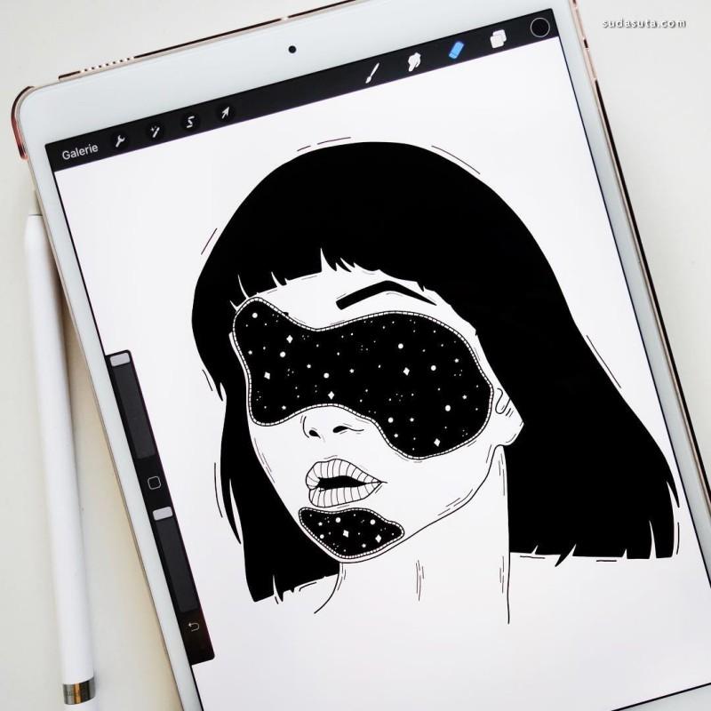 Ectomorphe 插画作品欣赏
