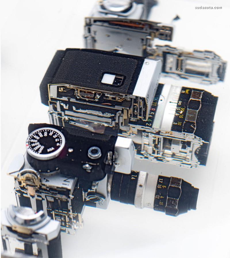 Fabian Oefner 拆分的相机