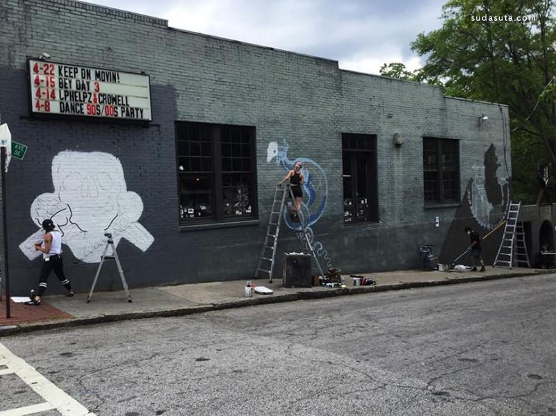 Kit Mizeres 不可思议的城市涂鸦