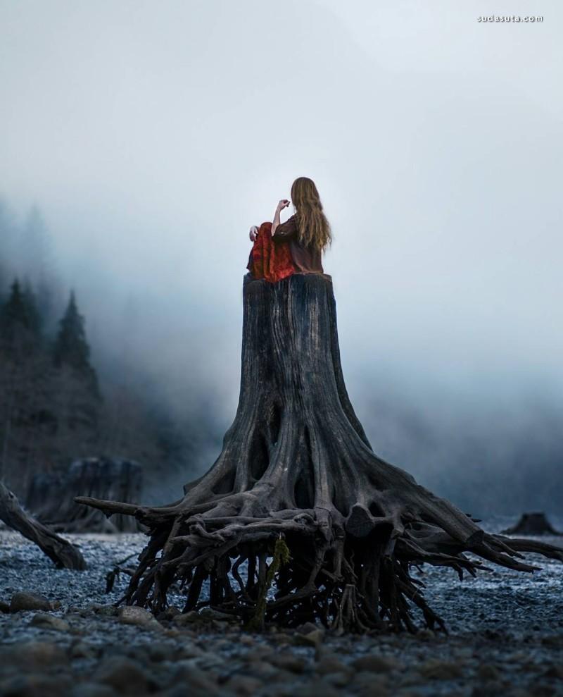 Lizzy Gadd 孤独的镜头