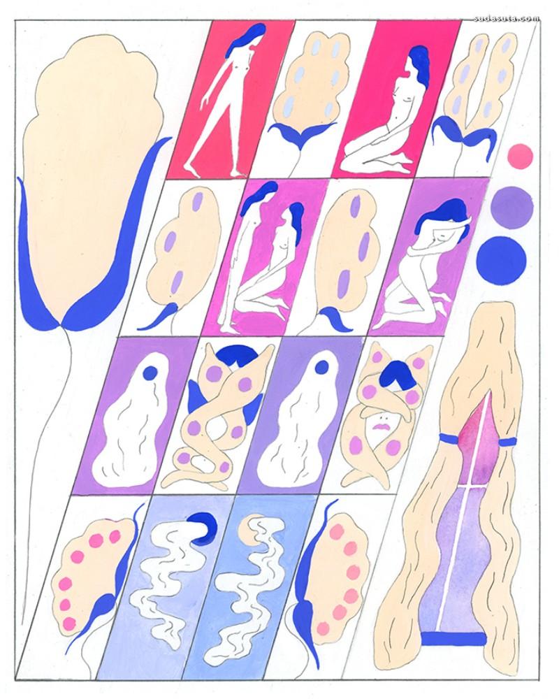 Paige Mehrer 装饰插画欣赏