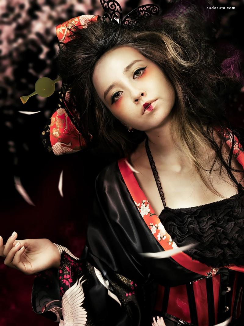 Shinji Watanabe 超现实主义摄影作品欣赏