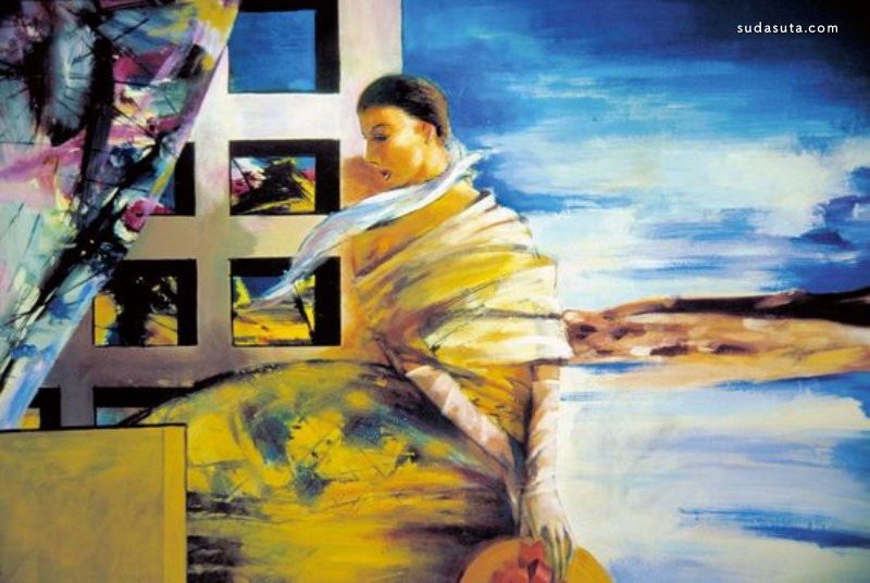 崔海源 诗歌及绘画艺术欣赏