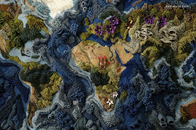 Vanessa Barragao 不可思议的刺绣艺术