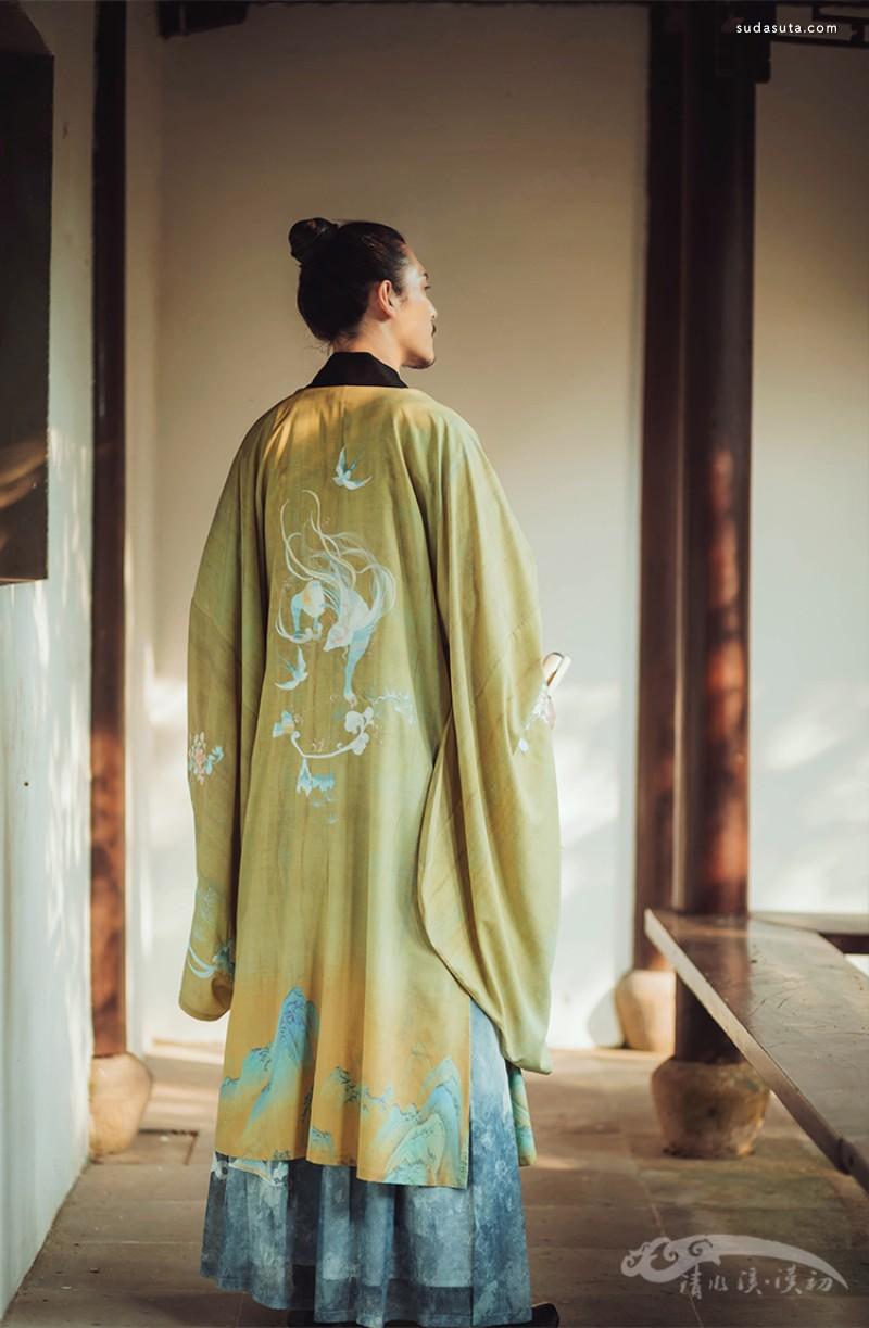 改良汉服设计欣赏 清水溪汉初汉服