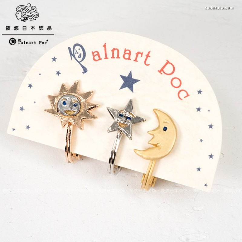 Palnart Poc 日本饰品品牌设计作品
