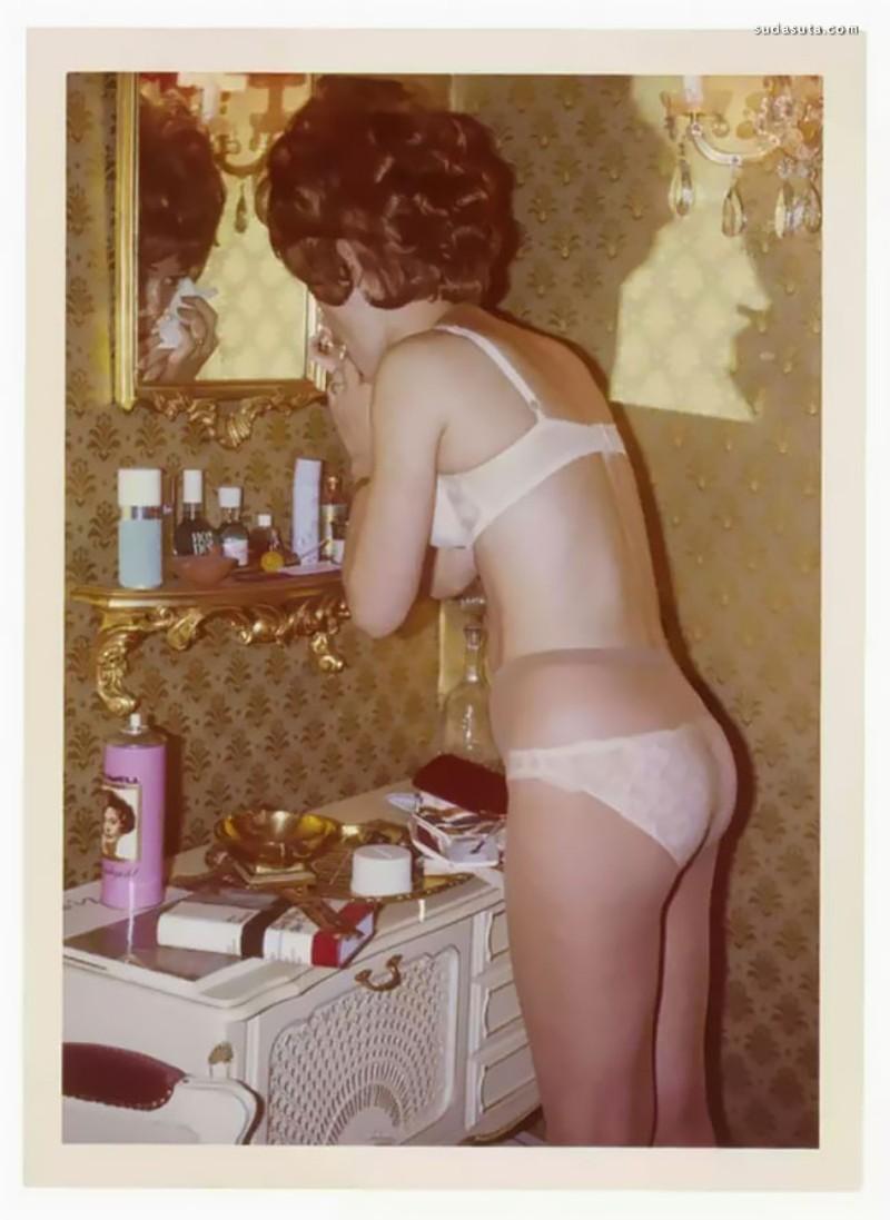 1970s 少女街拍的老照片