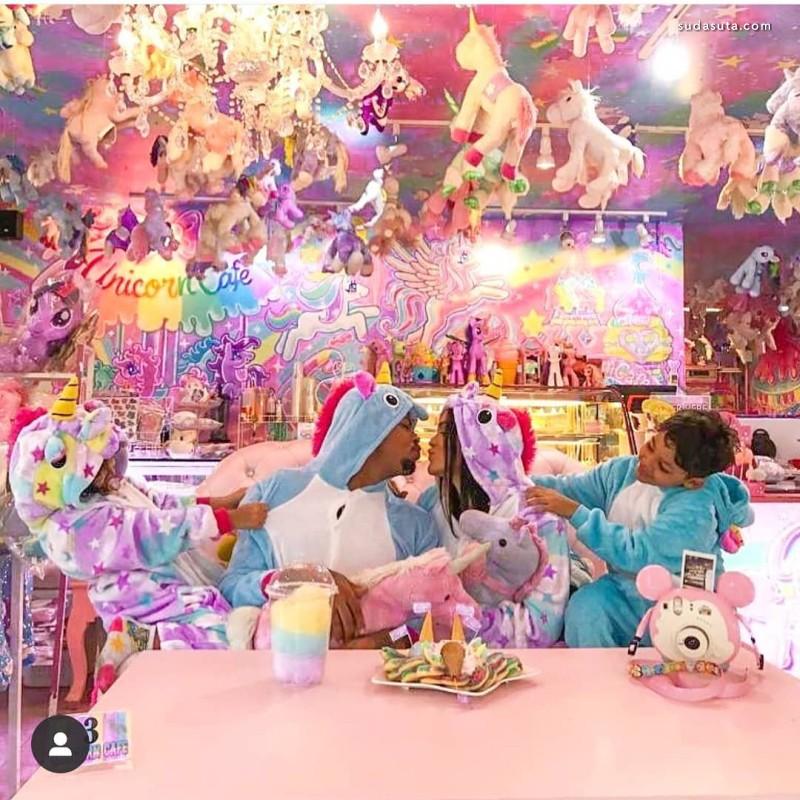 打卡曼谷独角兽彩虹堂餐厅