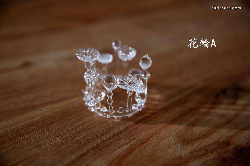 日本玻璃艺术品 宇宙的微生物!