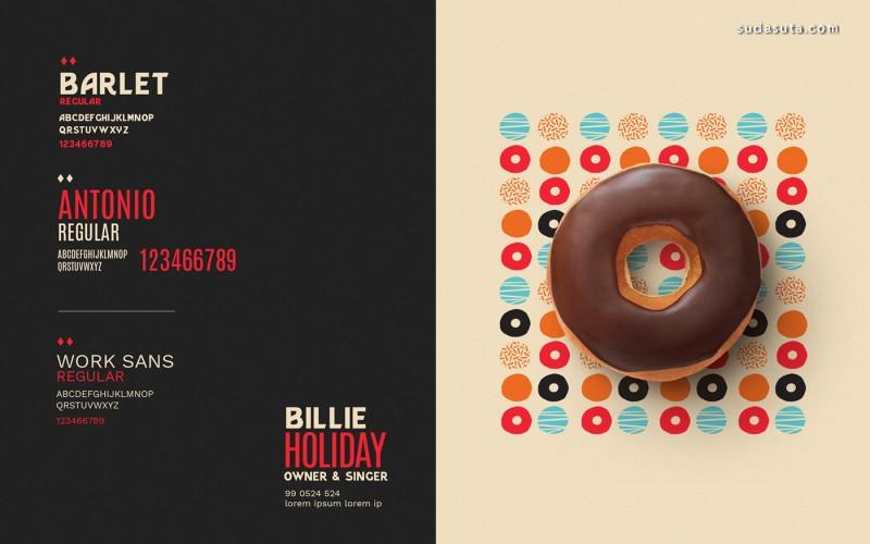 House of Donuts 美食包装设计欣赏