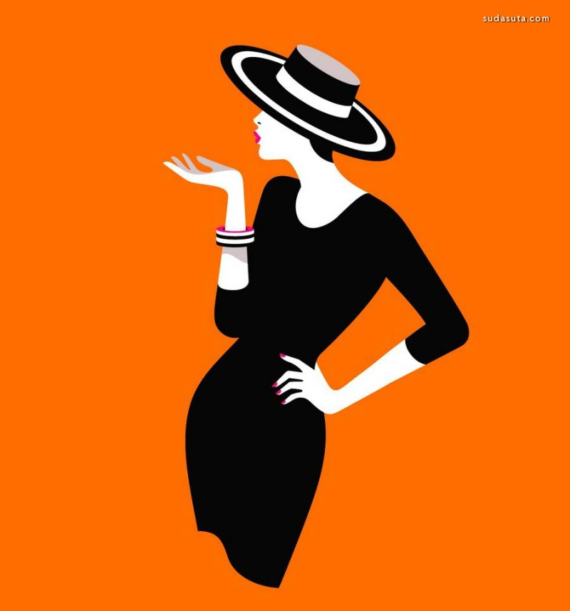 Malika Favre 极简主义海报图形设计欣赏