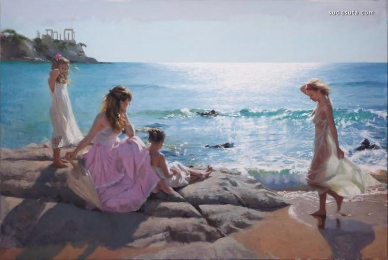 Vicente Romero Redondo 水粉绘画欣赏