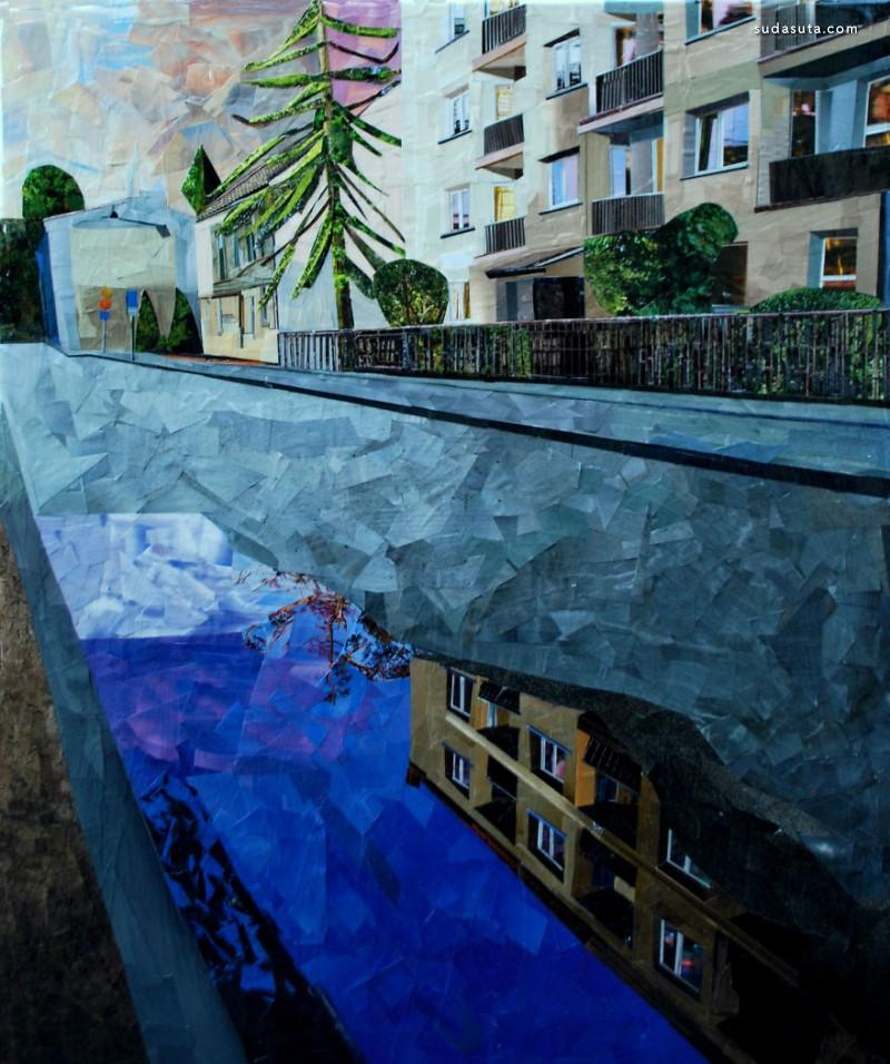 Albin Talik 油画还是碎纸片?