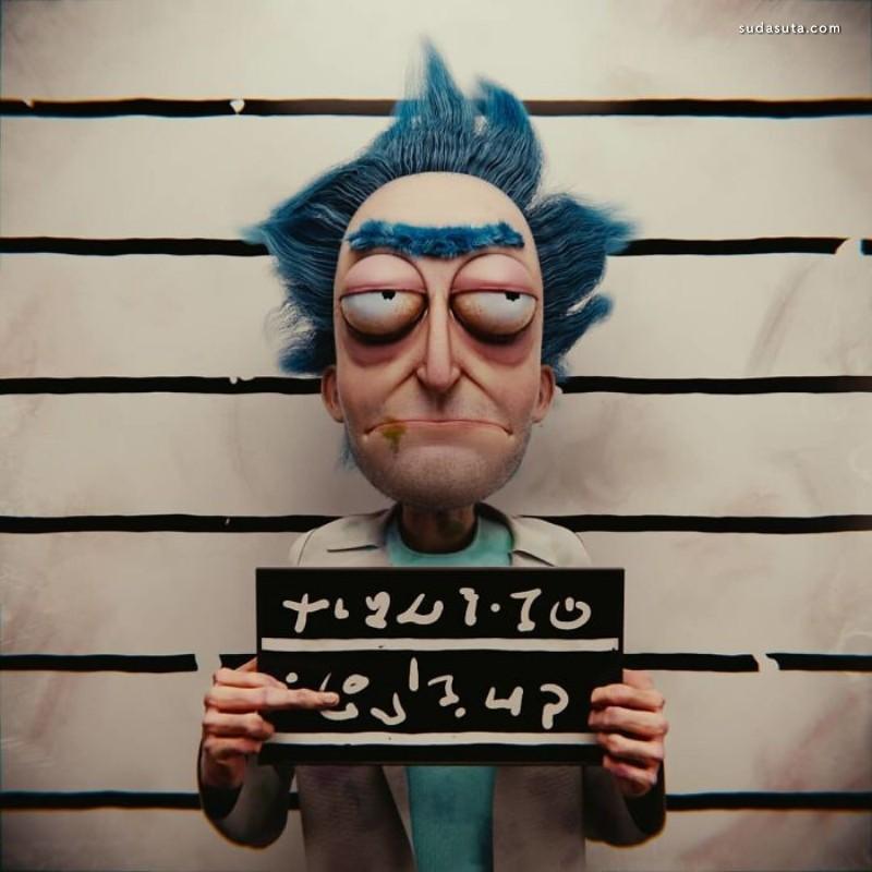 Brazilian Artist 恐怖的3D 卡通