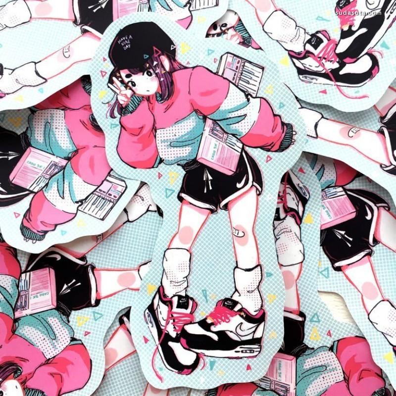 Crisalys 新鲜可爱的二次元少女漫画