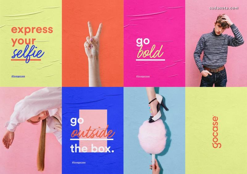 Gocase 品牌设计欣赏