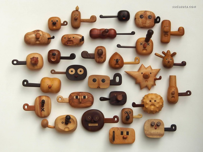 Jui-Lin Yen 木头玩具