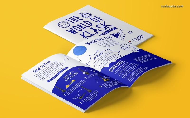 Klask-Scandi 游戏包装设计欣赏