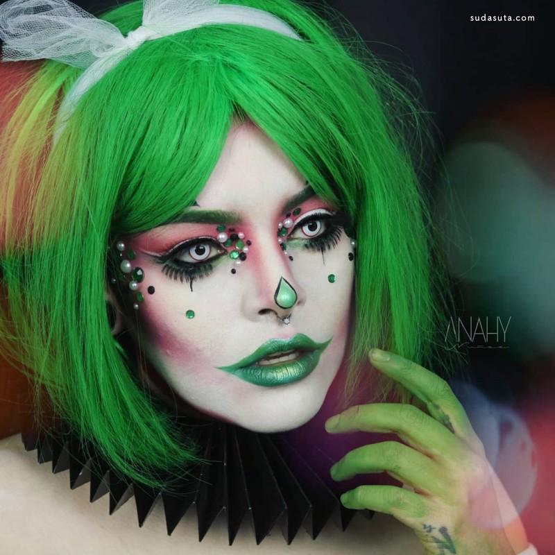 Laura Nunez 万圣节的彩妆