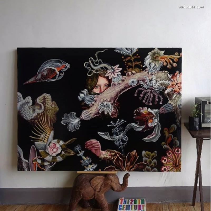 Nam Das 油画欣赏