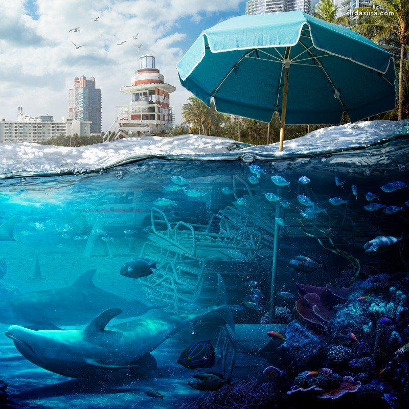 Nick Pedersen 漂浮的水上世界