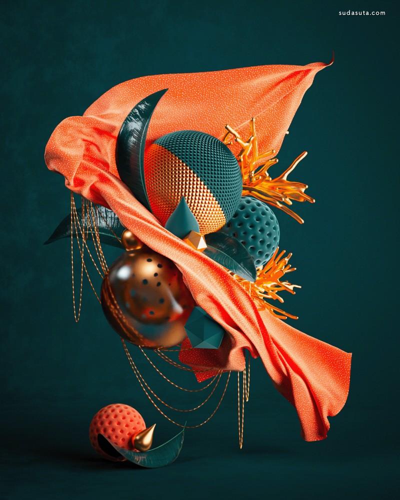 Roman Bratschi 不可思议的3D 艺术渲染