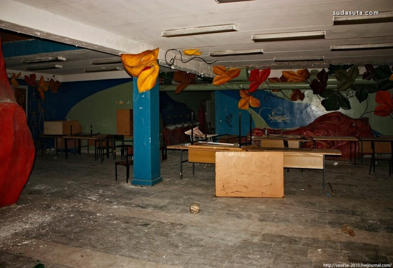 Skazka 被遗弃的建筑