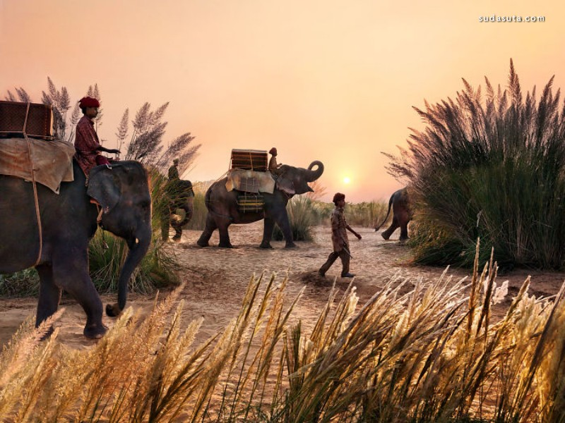 Steve McCurry 动物与人像摄影欣赏