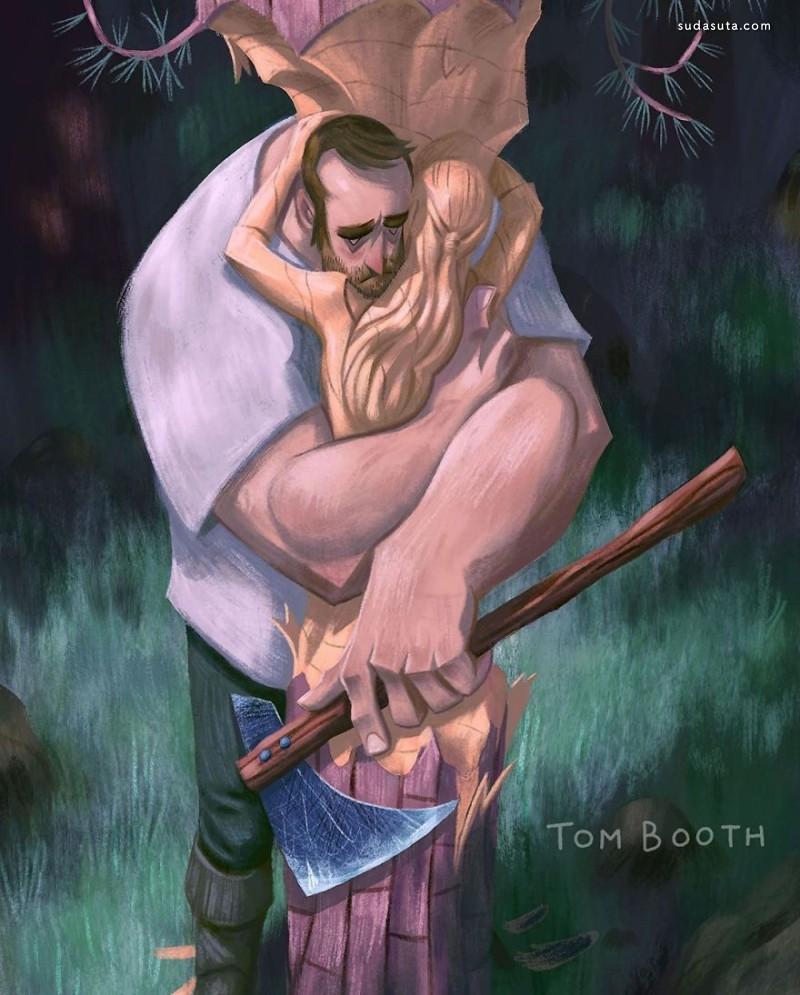 Tom Booth 伤心的故事