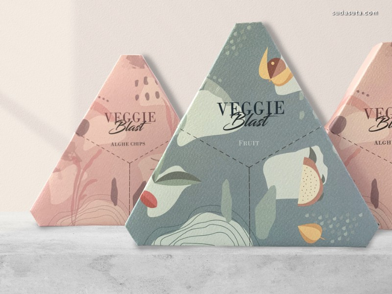Veggie Blast 包装设计欣赏