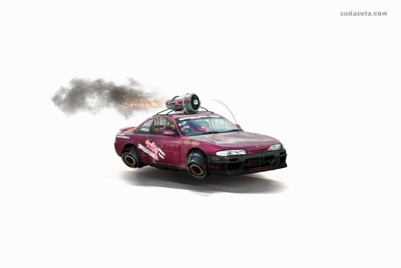 Zenildo Almeida 未来派汽车设计