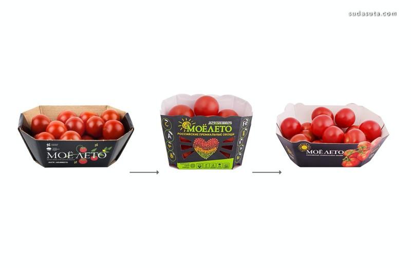 Agro-Invest 可爱的西红柿包装设计欣赏