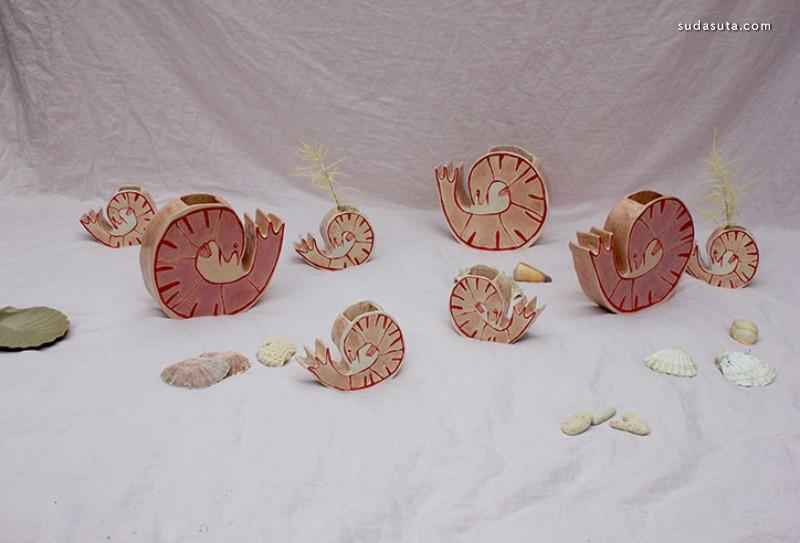 Alice Johnson 陶瓷设计欣赏