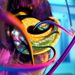 Anna Caban 3D 立体渲染