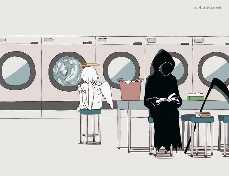 Avogado6 二次元漫画讽刺欣赏